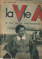 """LA VIE AERIENNE,"""" Le Plus Grand Hebdo Illustré D'aviation Du Monde"""", MARYSE HILSZ , N° 1, 8 Oct 1935 - Livres, BD, Revues"""