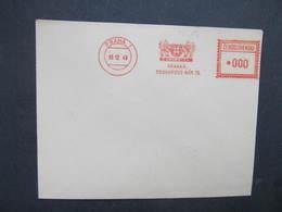 BRIEF Praha 1 Centrotex 1949 Frankotype Freistempel Postfreistempel /// N2815 - Tschechoslowakei/CSSR