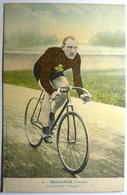 """SEIGNEUR (FRANÇAIS) - SUR BICYCLETTE """" PEUGEOT """" - Ciclismo"""