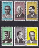 CAMEROUN AERIENS N°  138 à 143 ** MNH Neufs Sans Charnière, TB (D4948) Ecrivains Noirs Et Pro-noirs - Cameroun (1960-...)