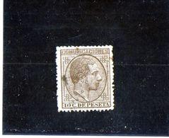 B - 1878 Spagna - Re Alfonso XII - Gebraucht