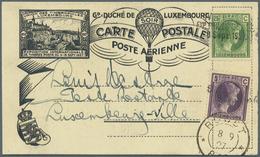 Br/ Luxemburg: 1865 - 1972 über 140 Belege, Ganz überwiegend Aus Dem Zeitraum Von 1910 Bis 1950 Und Aus - Luxembourg