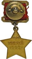 """Russland - Besonderheiten: Sammlung Sowjetische Orden, Medaillen Und Abzeichen """"Polnyj Kavaler"""" Der - Russia & USSR"""