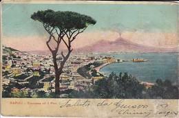 AK Napoli - Panorama Ed Il Pino - 1912 (32893) - Napoli (Napels)