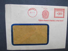 BRIEF Praha 1 Svazarm 1953 Frankotype Freistempel Postfreistempel /// N2841 - Tschechoslowakei/CSSR