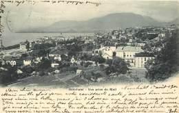 SUISSE -   NEUCHATEL  - VUE PRISE DU MAIL - NE Neuchâtel
