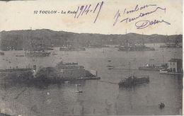CPA  France  83  Var -  Toulon – La Rade - Navires De Guerre - Toulon