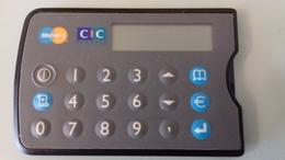PORTE CARTE CONVERTISSEUR CALCULATRICE CIC - Autres