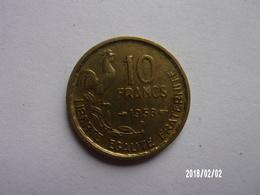 10 Francs - G. Guiraud - 1953 B - KM 915 - K. 10 Francs