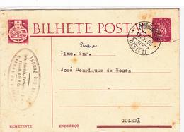 Portugal -Bilhete Postal -Circulou De Caldas Da Rainha Para Golegã - Portugal
