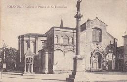 AK Bologna - Chiesa E Piazza Di S. Domenico - 1917 (32899) - Bologna