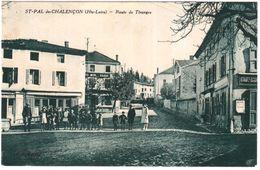 CPA HAUTE LOIRE.SAINT PAL DE CHALENCON - Francia