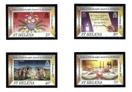 St Helena 703-06 MNH 1997 Duke Of Edinburghs Award - Sainte-Hélène