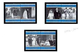 St Helena 697a-701a MNH 1997 QEII Golden Wedding Anniv - Sainte-Hélène