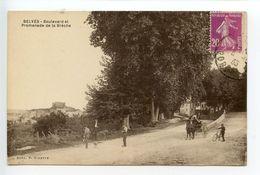 Belvès Promenade De La Brèche - Frankrijk