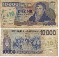 Argentina 10 Australes 1985 Pick 322.b Ref 1445 - Argentina