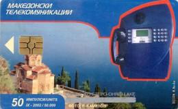 *MACEDONIA* - Scheda A Chip Usata - Macedonia