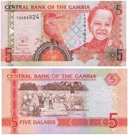 Gambia - The Gambia 5 Dalasis 2006-14 Pick 25 UNC - Gambia