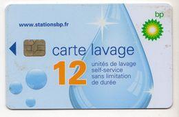 FRANCE CARTE De LAVAGE BP - Frankrijk