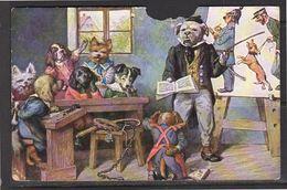 Comics Dogs 1927 Katwijk Aan Zee (damaged) (k30-24) - Humor