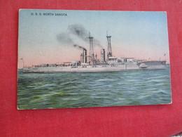 U.S.S. North Dakota  Ref 2834 - Warships