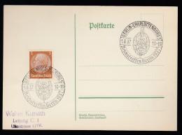 DR Postkarte Sonderstempel 1937 Berlin Ungelaufen K1392 - Deutschland