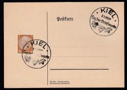 DR Postkarte Sonderstempel 1939 Kiel Ungelaufen K1400 - Deutschland