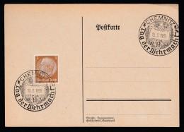 DR Postkarte Sonderstempel 1939 Chemnitz Ungelaufen K1404 - Deutschland