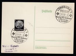DR Postkarte Sonderstempel 1937 Lüneburg Ungelaufen K1412 - Deutschland