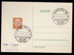 DR Postkarte Sonderstempel 1937 Hamburg Ungelaufen K1413 - Deutschland