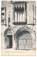 18 - BOURGES - Entrée Du Palais Jacques Coeur - Ed. LL N° 51 - Coquille Saint Jacques - Bourges