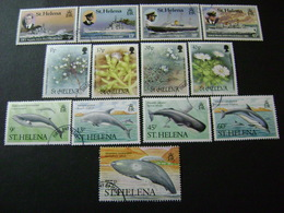Saint Helena 1987-1988 Commemorative Issues - Used - Sint-Helena