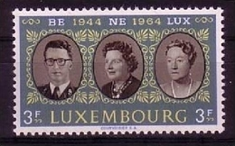 LUXEMBURG MI-NR. 700 ** MITLÄUFER 1964 - ZOLLUNION BENELUX - European Ideas