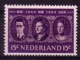 NIEDERLANDE MI-NR. 829 ** MITLÄUFER 1964 - ZOLLUNION BENELUX - European Ideas
