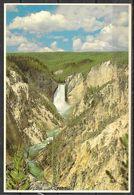 Wyoming, Yellowstone NP, Lower Falls, Unused - Yellowstone