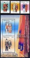 Malaysia 2006 S#1107-1110 Traditional Costumes Set+M/S MNH Culture Costume - Malaysia (1964-...)
