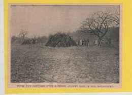 Hutte D' Un Capitaine D' Une Batterie Avancée Dans Le Bois Malancourt 1914 - 1914-18