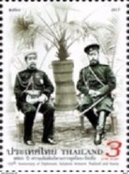 Thailand 2017 Joint Issue With Russia And Diplomatic Relations 120 Years 1v Mint - Tailandia