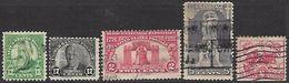 US 1925-6   Sc#622-9    Used  2016 Scott Value $6.50 - Etats-Unis