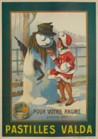 Pastilles Valda Pour Votre Rhume 1919 - Postcard Reproduction - Publicité