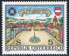 Autriche - 125e Anniversaire De La Foire Commerciale De Friestadt 1722 ** - 1945-.... 2ème République