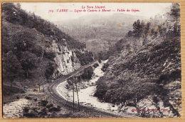X81535 VABRE Ligne Chemin De Fer CASTRES à MURAT Vallée Du GIJOU 1915 De Marcel BIAU à Pierre MAILHE 3e Zouave - Vabre
