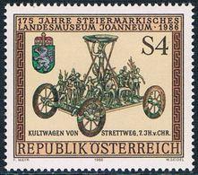 """Autriche - 175e Anniversaire Du """"Joanneum"""", Musée Provincial De Styrie 1697 ** - 1945-.... 2ème République"""