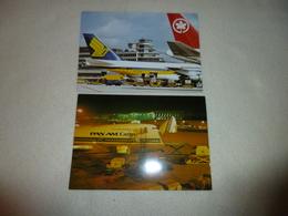2  CARTES AEROPORT DE FRANCFORT  ...FRANKFURT/MAIN - Aerodrome