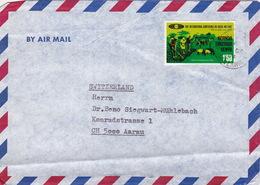 Brief In Die Schweiz (br2978) - Kenya, Uganda & Tanganyika