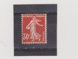 FRANCE    1924-26  Y.T. N° 191b  NEUF*  Charnière - 1906-38 Säerin, Untergrund Glatt