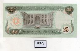 Iraq - Banconota Da 25 Dinari - Nuova -  (FDC8052) - Iraq