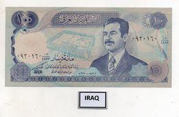 Iraq - Banconota Da 100 Dinari - Nuova -  (FDC8053) - Iraq
