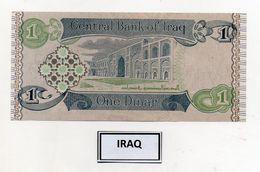 Iraq - Banconota Da 1 Dinaro - Nuova -  (FDC8055) - Iraq