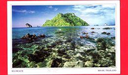TAILANDIA - Cartolina Viaggiata Nel 2007 - Krabi - Sea Beach - Tailandia